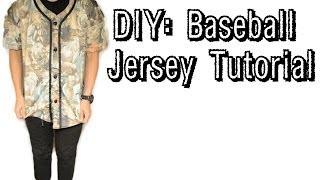 DIY: Baseball Jersey Tutorial