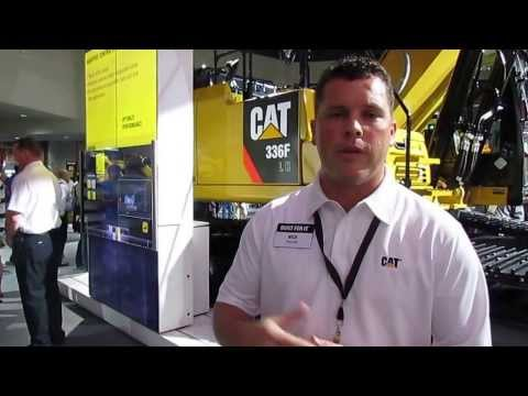Caterpillar 336F Hybrid Excavator at ConExpo 2014