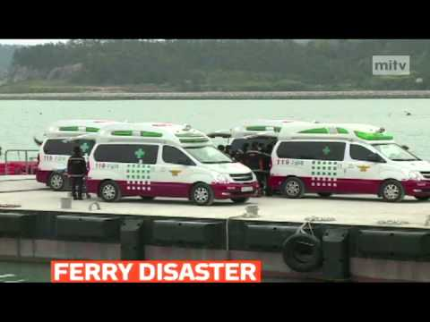 mitv - Grim task of recovering bodies from South Korea's ferry