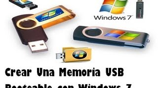 Crear una memoria USB booteable con Windows 7