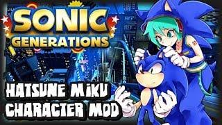 Sonic Generations PC Hatsune Miku Character Mod W/Super