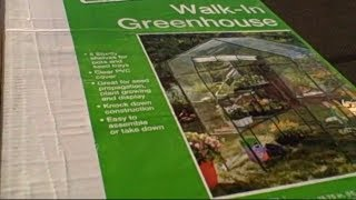 Walk In Greenhouse $34 And 70% Off Organic Gardening