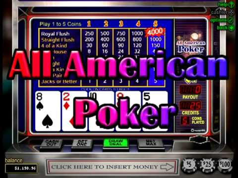 online slot machine poker american 2