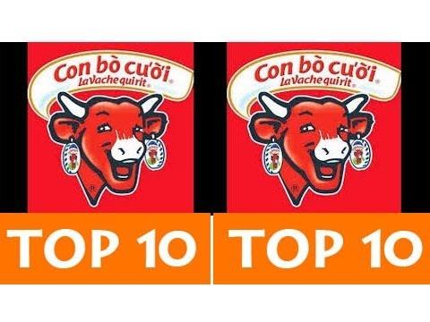 TOP 10 QUẢNG CÁO CON BÒ CƯỜI HAY NHẤT MỌI THỜI ĐẠI [HD]