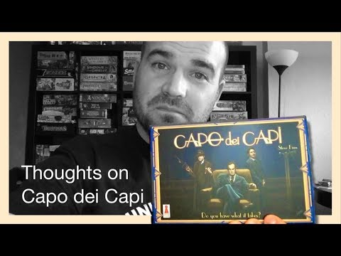 Capo dei Capi - Thoughts extended in 60 seconds with Ben