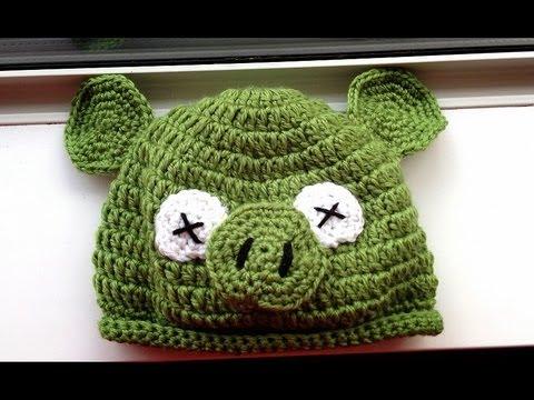 Móc mũ cách điệu hình chú lợn cho bé trai và bé gái