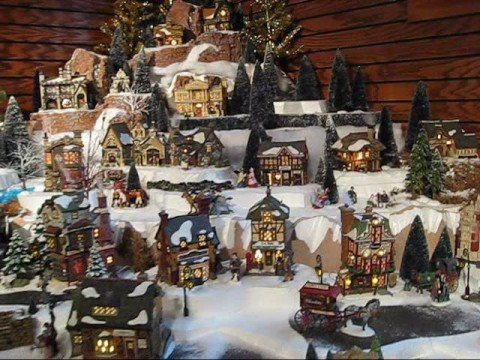 Department 56 Dickens Village Series Display Video Youtube