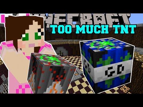 Minecraft: WORLD ENDING TNT (GLOBAL DISASTER TNT!) Mod Showcase