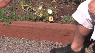 Flower & Plant Garden Care : How To Edge A Flower Bed With