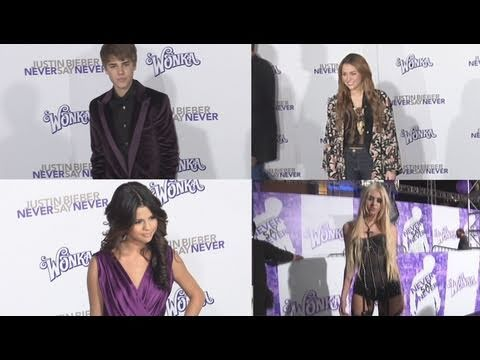 "Justin Bieber ""NEVER SAY NEVER"" Los Angeles Premiere Arrivals"