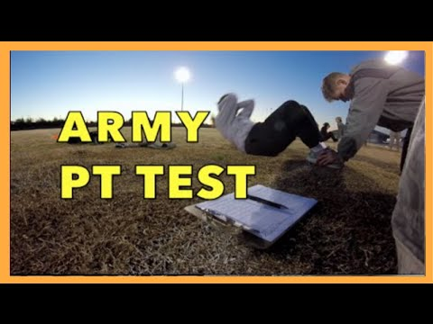 ARMY LIFE ON BASE: ARMY PT TEST | ARMY PHYSICAL FITNESS TEST (APFT)