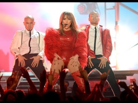 JENNIFER LOPEZ & PITBULL PERFORM SEXY