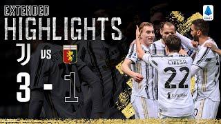 Juventus 3-1 Genoa | Kulusevski Scores Superb Opener! | EXTENDED Highlights