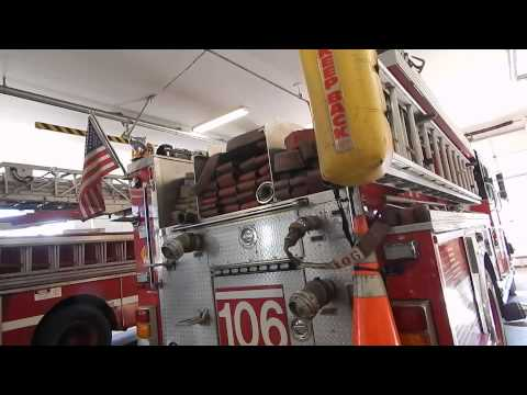 Chicago Fire Department Engine 106 House Apparatus