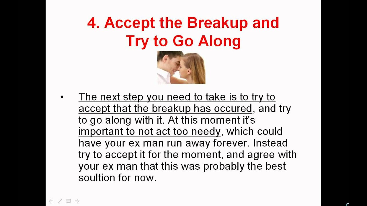 How to get my ex back even if it seems impossible