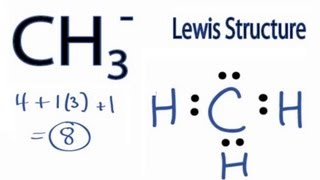 CH3- Lewis Structure: How To Draw The Lewis Structure For