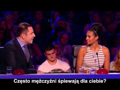 (Napisy)Brytyjski Mam Talent[2013] - Alesha szuka chłopaka