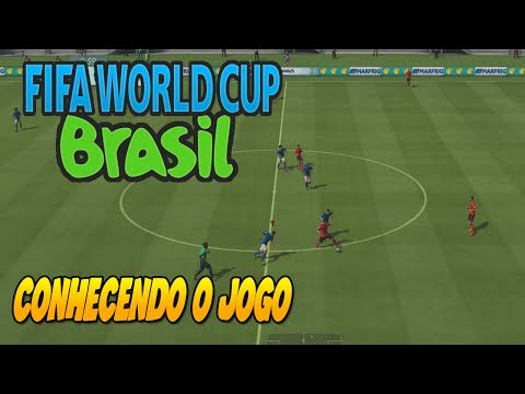 A MELHOR JOGABILIDADE ?? - FIFA WORLD CUP 2014 Demo - GAMEPLAY