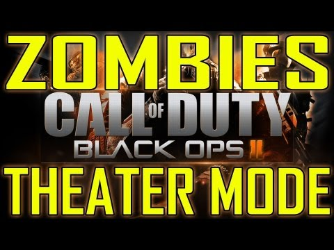 Black Ops 2 - Zombies Theater Mode and Campaign Create-a-Class (Call of Duty BO2 Zombie)