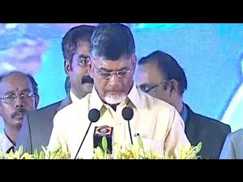 N Chandrababu Naidu Sworn in as Andhra Pradesh Chief Minister