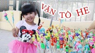 BÉ BÚN XEM NẶN TÒ HE – ĐỒ CHƠI DÂN GIAN VIỆT NAM | Vietnam folk toys