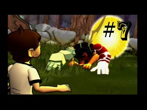 IS BEN 10 BETTER THAN KEVIN 11?! - Ben 10 Protector Of Earth - Walkthrough Part 7 - Lumber Mill