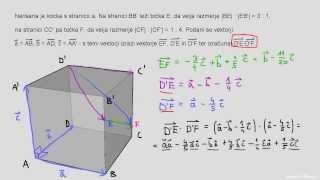 Skalarni produkt – naloga 6