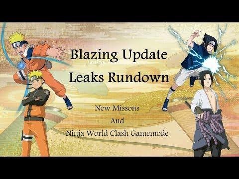 Naruto Shippuden: Ultimate Ninja Blazing Update Rundown (Leaks in description/Late Upload)