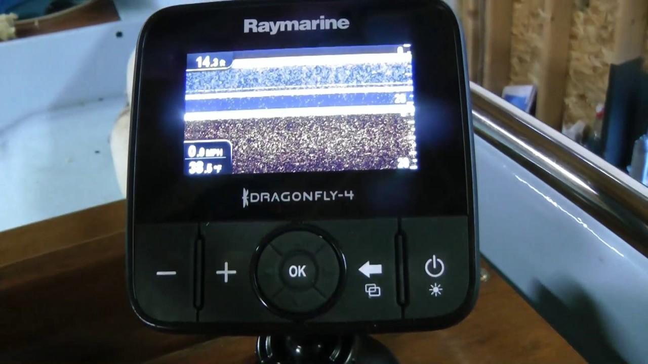 raymarine dragonfly 4 dvs обзор