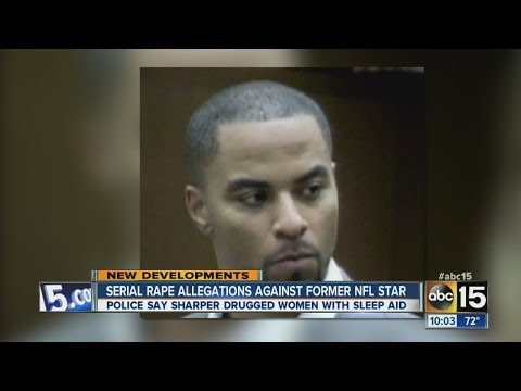 Police say Darren Sharper drugged women with sleep aids