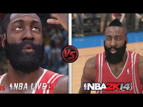 NBA Live 15 vs NBA 2K14 Graphic Comparison! Which is better?