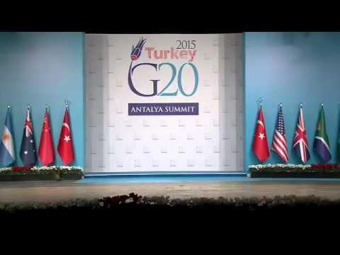 قطط في قمة G20