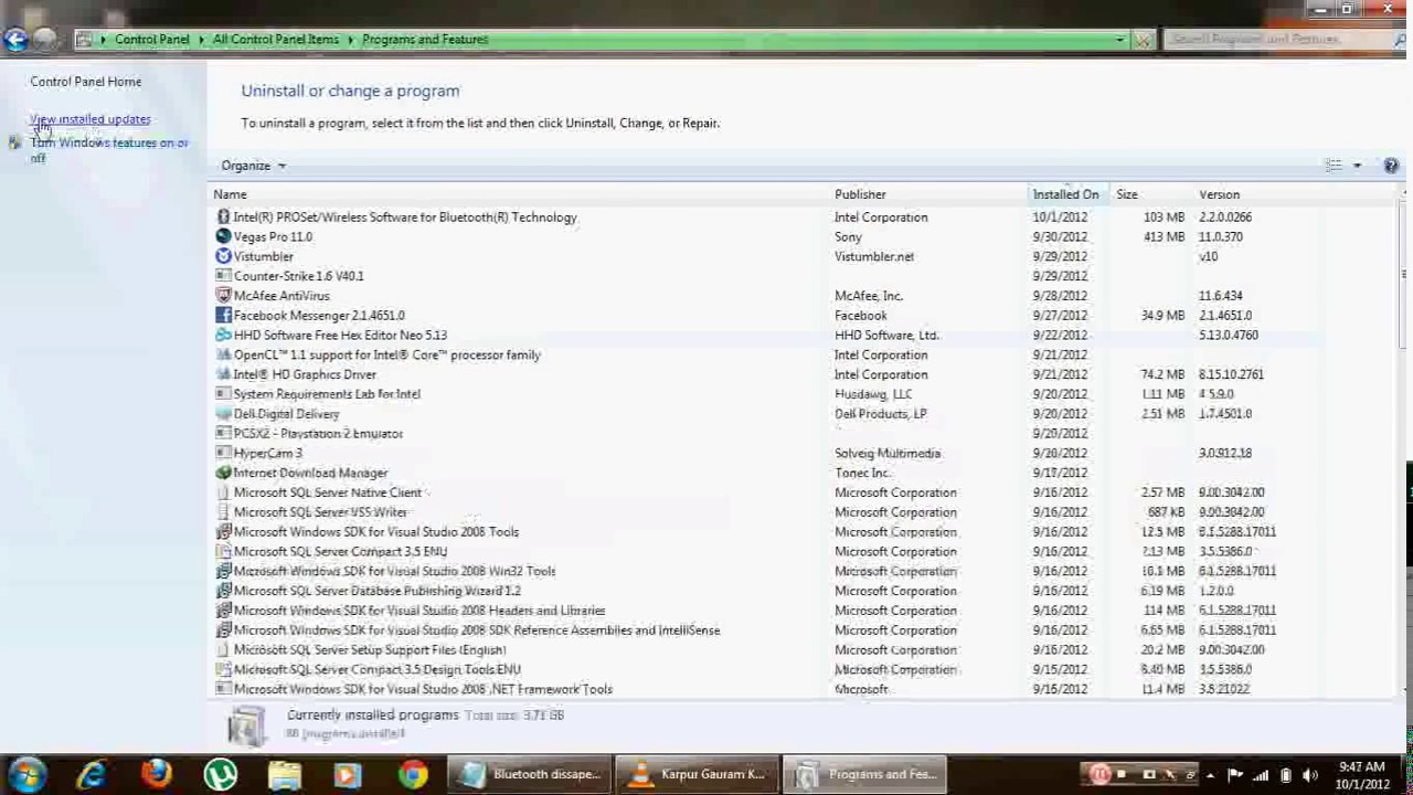 how to send file via bluetooth on windows 7