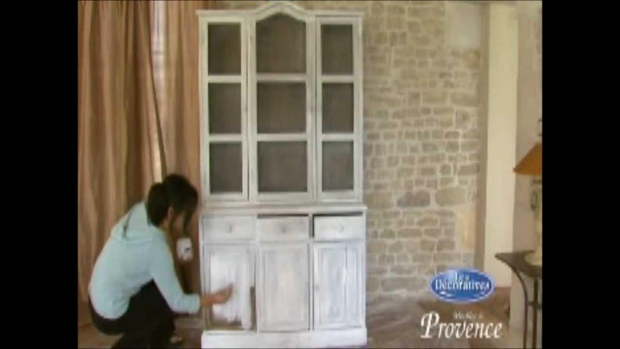 Muebles de estilo provenzal youtube - Como lacar un mueble de madera en blanco ...