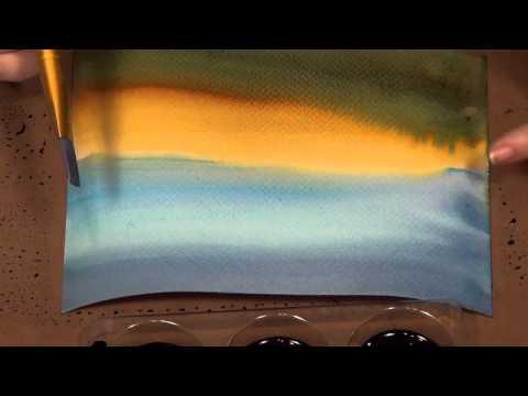 Crafter's Companion Spectrum Noir AquaTint Inks - Landscape
