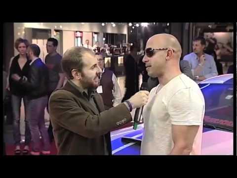 Fast & Furious 5 - Premiere italiana - Intervista a Vin Diesel