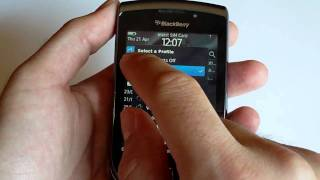 BlackBerry Torch 9800: Video Análisis