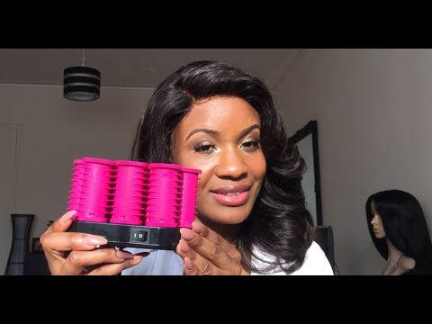 How To: Use TRESemmé Rollers On Lace Frontals