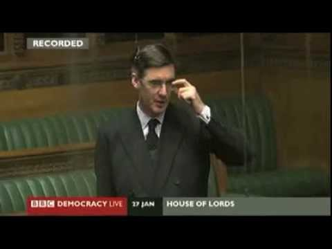 Tory MP Jacob Rees Mogg excoriates govt over EU Approvals Bill