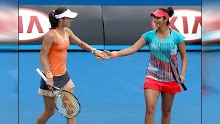 Sania Mirza-Martina Hingis lift Australian Open 2016 women's doubles title