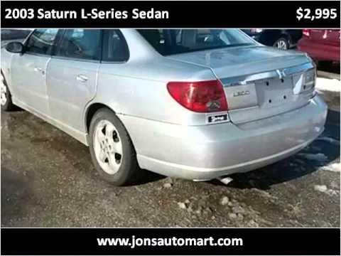 2003 Saturn L-Series Sedan Used Cars Lewiston, Auburn, Portl