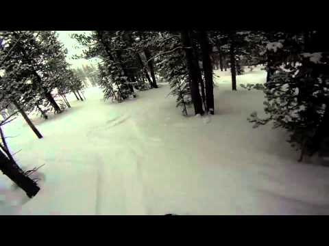 Pro Snowboarder Jesse Csincsak Tree Run Breckenridge Colorado GO PRO HERO HD SNOWBOARDING VIDEO