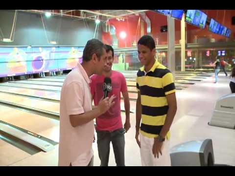 Replay -  Douglas do Náutico e da Seleção Sub 20 no Boliche -  Tv Jornal   04/12/12