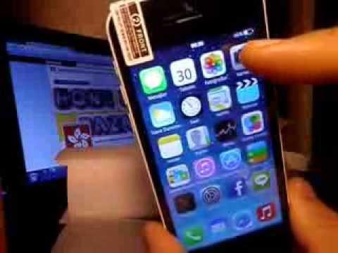 İOS 7 Görünümlü ANDROİD İphone 5C tanıtım 2