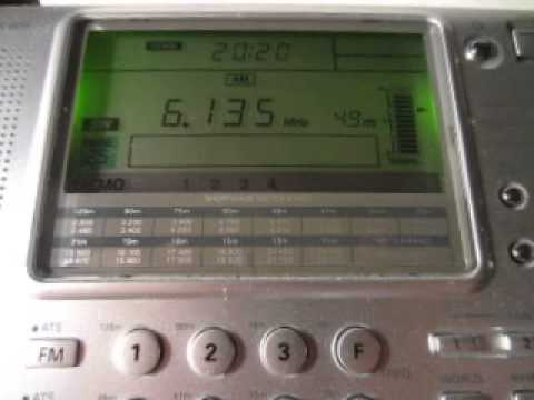 Republic Of Yemen Radio 6135 kHz. 7.1.2014.