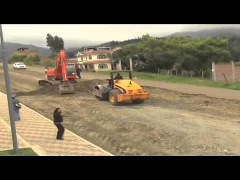 Municipio trabaja en varias obras en la ciudad