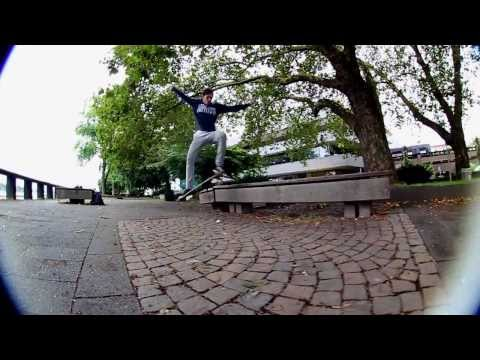 Patrick Kurtz 2013 Part Wasted Skateboards