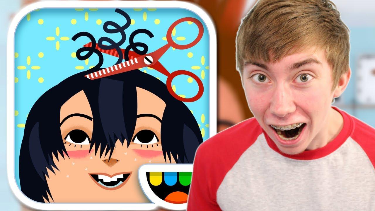 Toca hair salon 2 iphone gameplay video youtube - Toca hair salon game ...