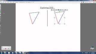 Geometry - 4.3 - Proving Triangles are Congruent: SSS and SAS