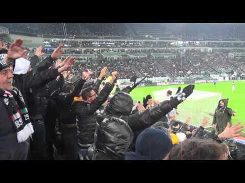 Juventus vs Sampdoria 4-2 Curva Sud 18/01/2014